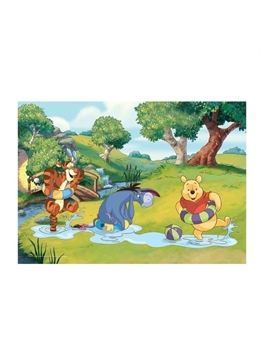 KS Puzzle KS Puzzle WN709 Winnie The Pooh Temalı 50 ParÇa Çocuk Puzzle Renkli